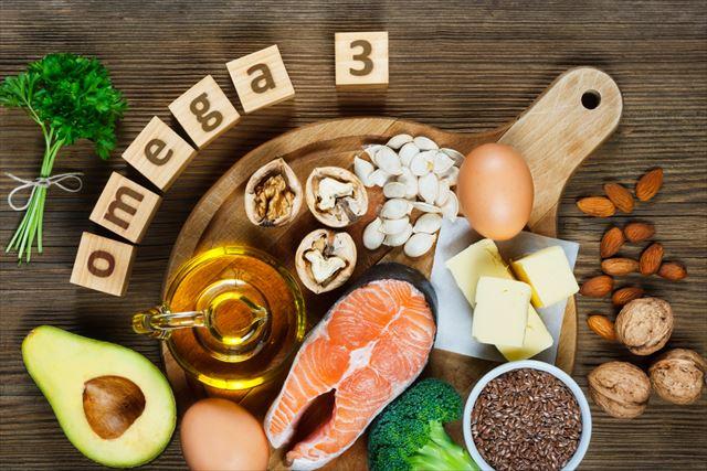 オメガ3を含む食品の画像